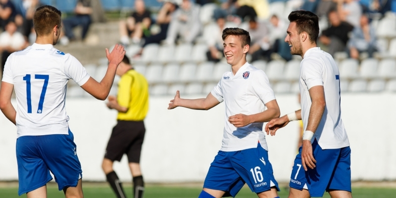 Croatia U-19: Šarić and Vušković scored, Brnić added an assist