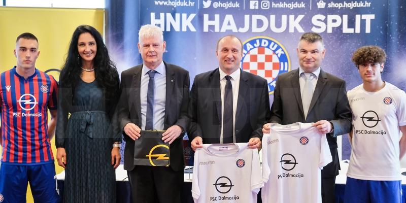 Hajduk i PSC Dalmacija potpisali sponzorski ugovor!