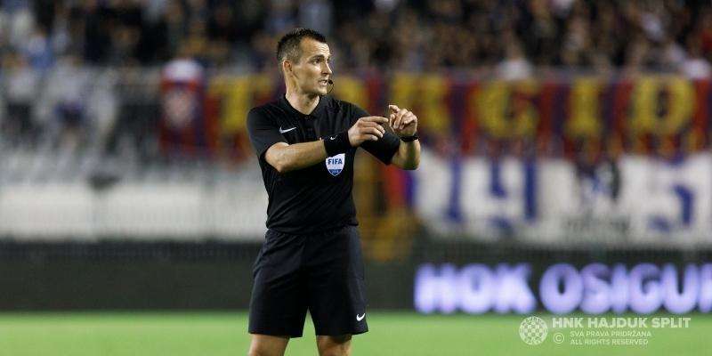 Ivan Bebek sudi utakmicu Lokomotiva - Hajduk