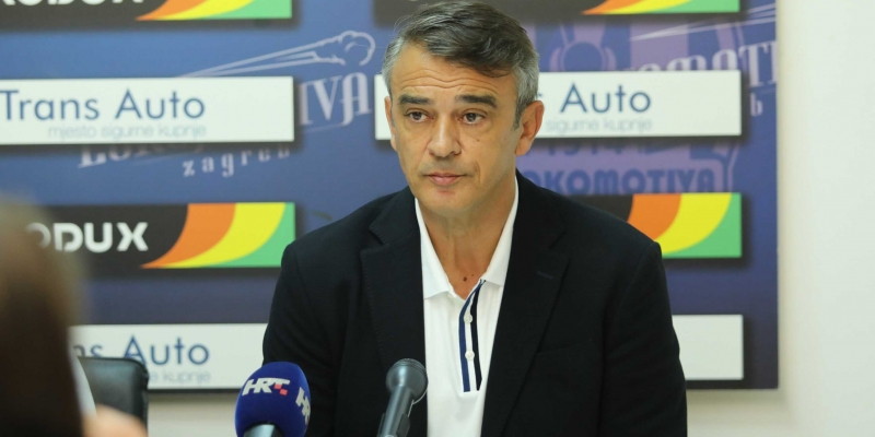 Coach Burić after a draw at Kranjčevićeva