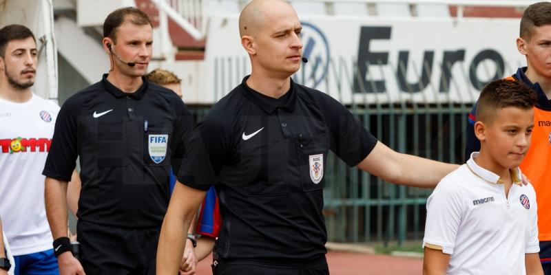 Dario Bel određen za glavnog suca utakmice Hajduk - Slaven Belupo