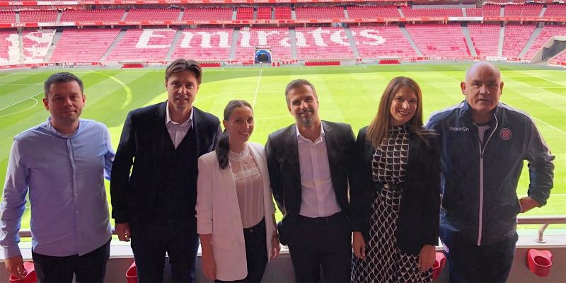 Radni posjet Benfici: Razmijenjena iskustva na području sporta, marketinga, organizacije utakmica...