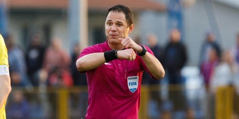 Hrvatski kup: Fran Jović sudi utakmicu Gorica - Hajduk