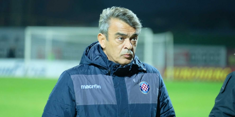 Post-match press conference in Velika Gorica
