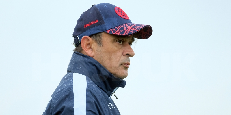Coach Burić ahead of the championship game with Gorica