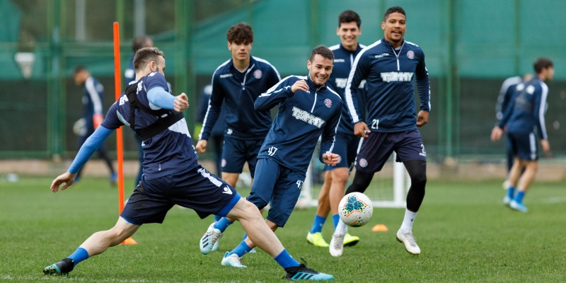 Hajduk preparing for the derby with Dinamo