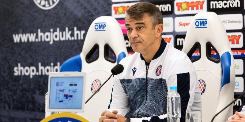 Trener Burić uoči utakmice Dinamo - Hajduk