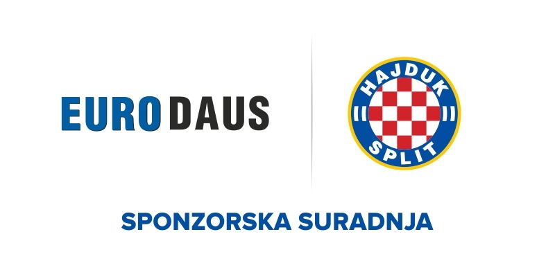 Hajduk potpisao produljenje sponzorske suradnje s tvrtkom Euro Daus d.d.