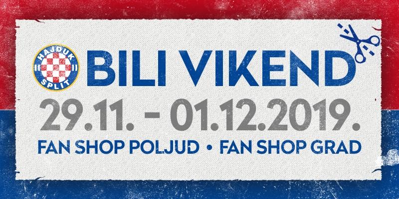 Bili vikend u Hajdukovim Fan shopovima!