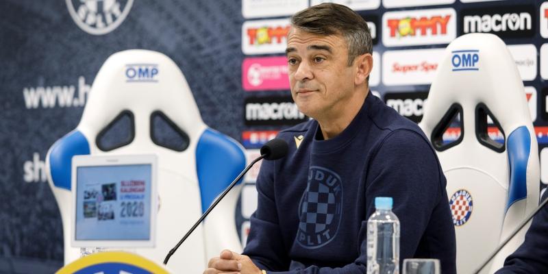 Coach Burić's pre-match press conference