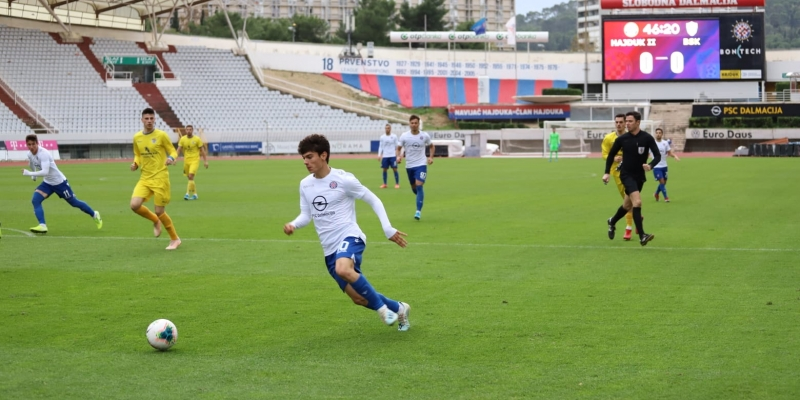 Bez golova završila utakmica Hajduka II i BSK-a