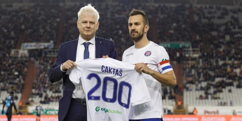 Caktaševih 200 nastupa za Bijele: Čak 72 pogotka, drugi strijelac Hajduka u povijesti HNL-a...