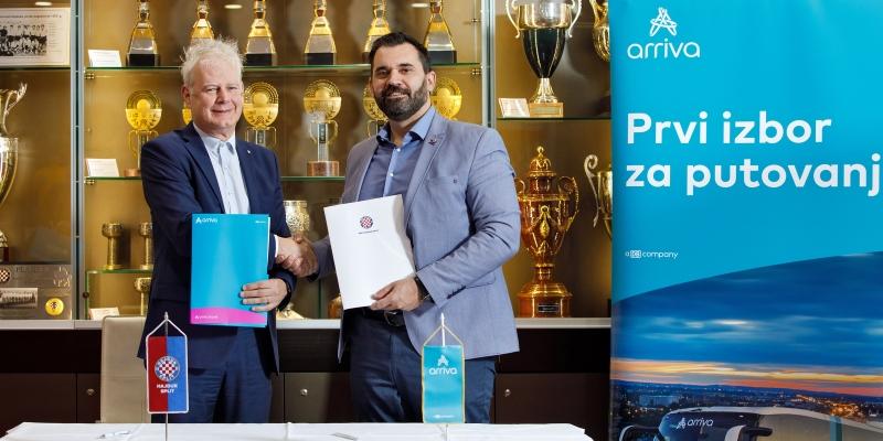 HNK Hajduk i tvrtka Arriva produžili sponzorsku suradnju