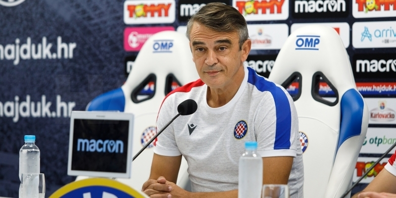 Coach Burić ahead of Inter Zaprešić - Hajduk