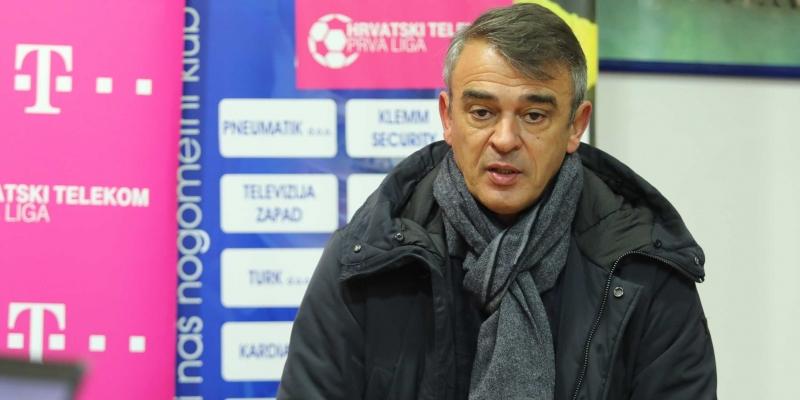 Konferencija za medije nakon utakmice Inter Zaprešić - Hajduk