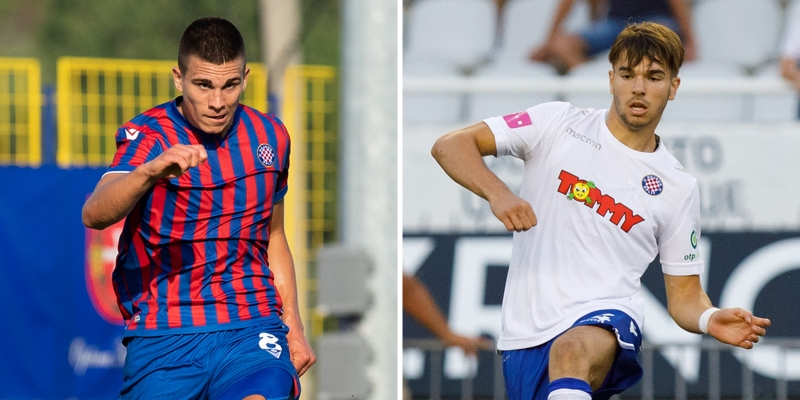 Mario Vušković and Dino Skorup signed professional contracts with Hajduk