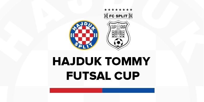 Hajduk Tommy Futsal Cup: Spoj nogometa i futsala kroz četiri turnira za mlađe uzraste