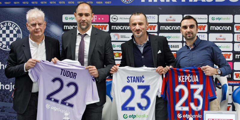 Igor Tudor: I'll give my best to make Hajduk better!