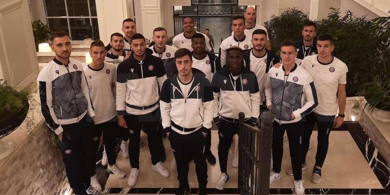 Hajduk arriived to Turkey for a winter training camp in Belek