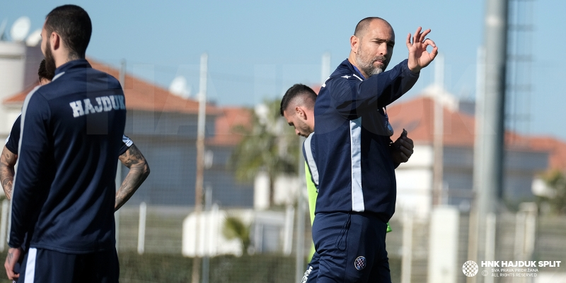 First training session in Turkey
