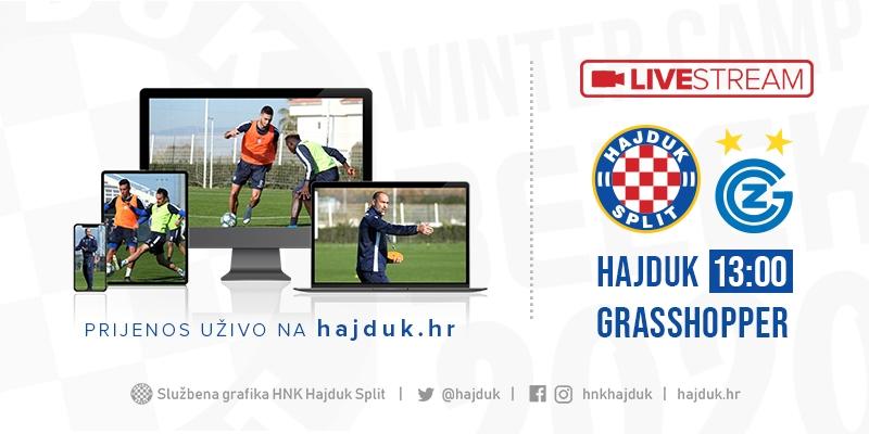 UŽIVO: Hajduk - Grasshopper