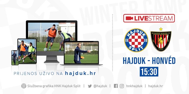 UŽIVO: Hajduk - Honved