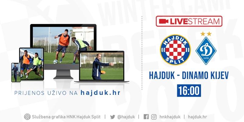 UŽIVO: Hajduk - Dinamo Kijev