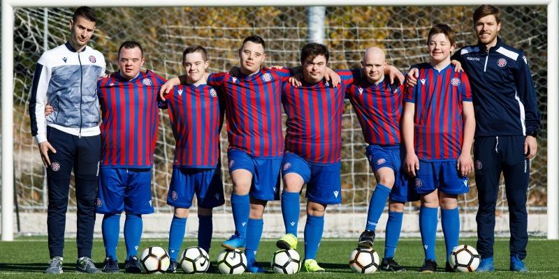 Hajduk sudionik projekta Special Power League: ''S velikom radošću dolaze na svaki trening''