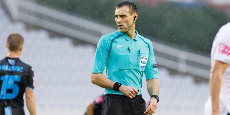 Tihomir Pejin sudi utakmicu Varaždin - Hajduk