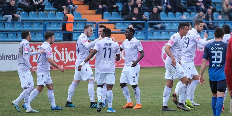 Varaždin: Varaždin - Hajduk 0:3