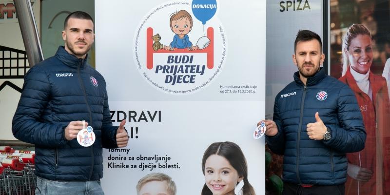 """I Hajduk podržava humanitarnu akciju """"Budi prijatelj djece"""""""