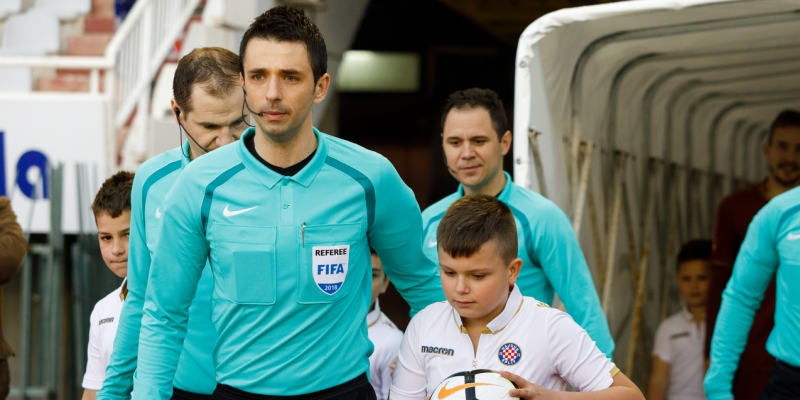 Pajač to officiate Hajduk - Lokomotiva, Bebek in charge of VAR