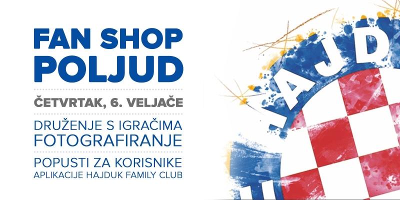 Otvorenje preuređenog Fan shopa Poljud u četvrtak u 19.11 sati