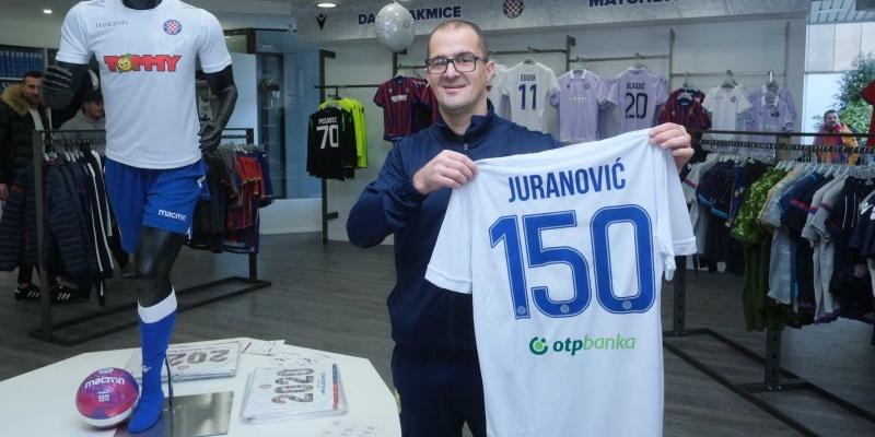 Hajduk darivao 150. kupca novouređenog Fan shopa Poljud