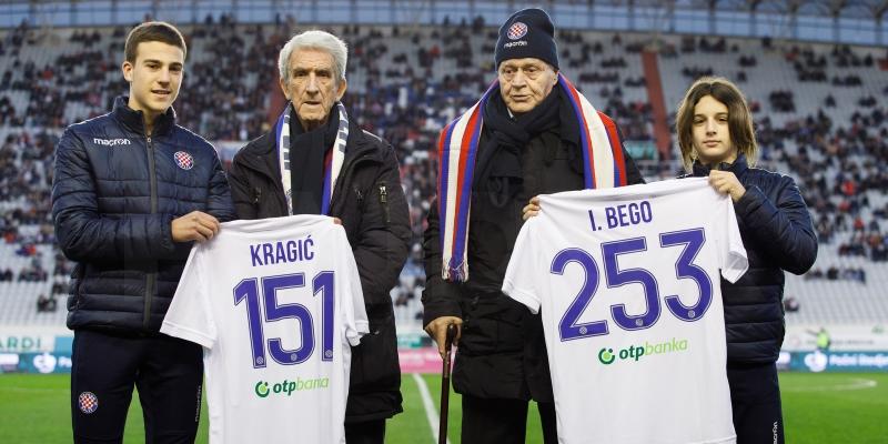Ivi Begi i Bogdanu Kragiću uručeni prigodni dresovi
