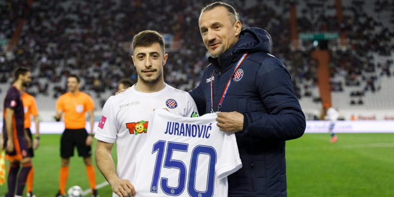 All about Juranović's 150 games in the white jersey
