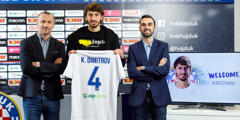 Kristian Dimitrov is a new Hajduk player!