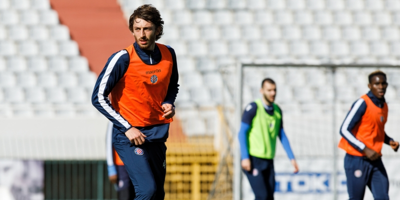 Dimitrov joined the first team's training