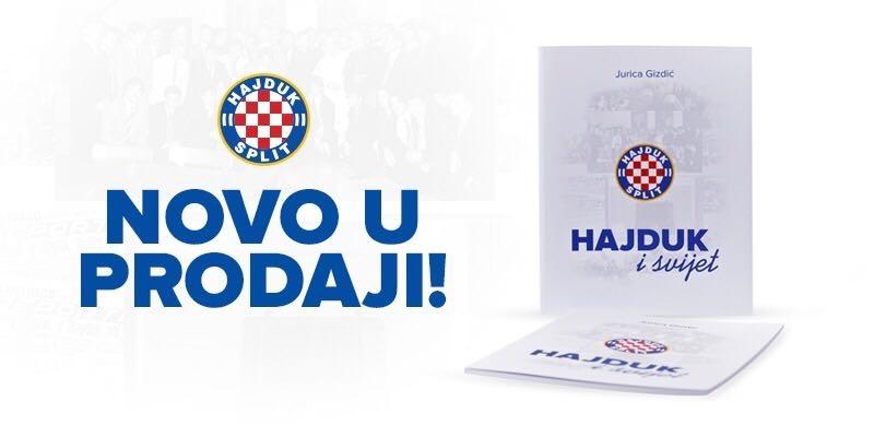 """Predstavljena nova knjiga Jurice Gizdića: """"Hajduk i svijet"""""""