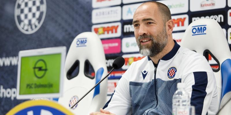 Trener Tudor uoči utakmice Hajduk - Gorica