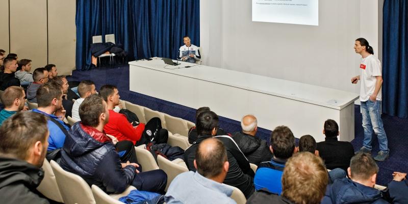 Brojni treneri prisustvovali edukaciji u sklopu programa ''Klub partner''