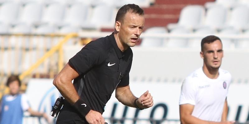 Zdenko Lovrić to officiate Hajduk - Inter
