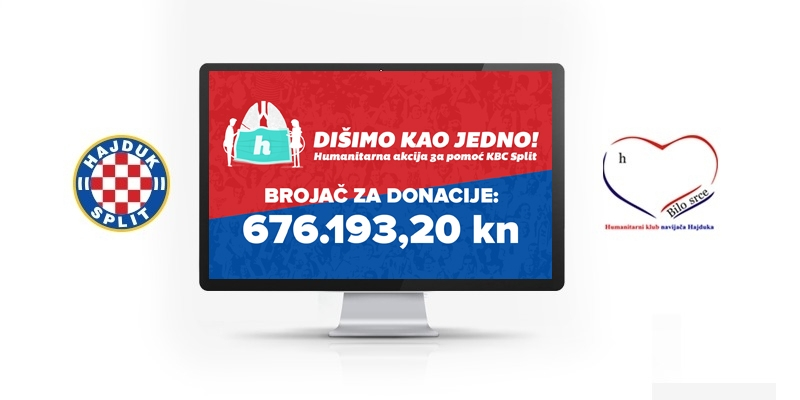 U samo tjedan dana akcije ''Dišimo kao jedno'' prikupljeno preko 680.000 kuna