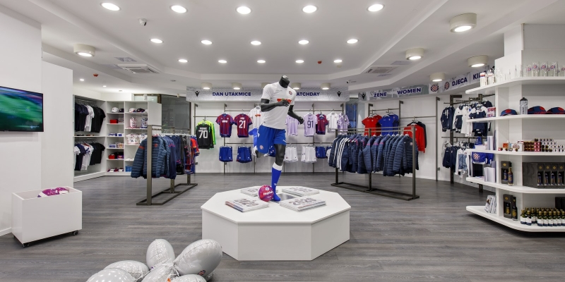 Hajduk Fan Shops reopen on Monday