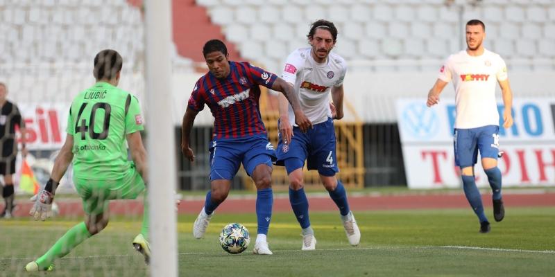 Trening utakmica: Bijeli - Crveno-plavi 1:4
