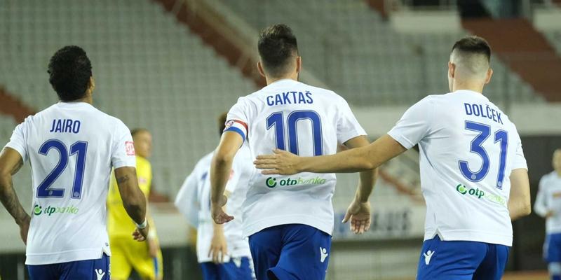 Split: Hajduk - Inter Z. 2-1