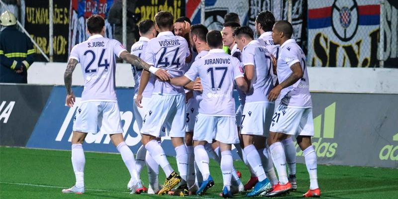 Zagreb: Lokomotiva - Hajduk 3:2