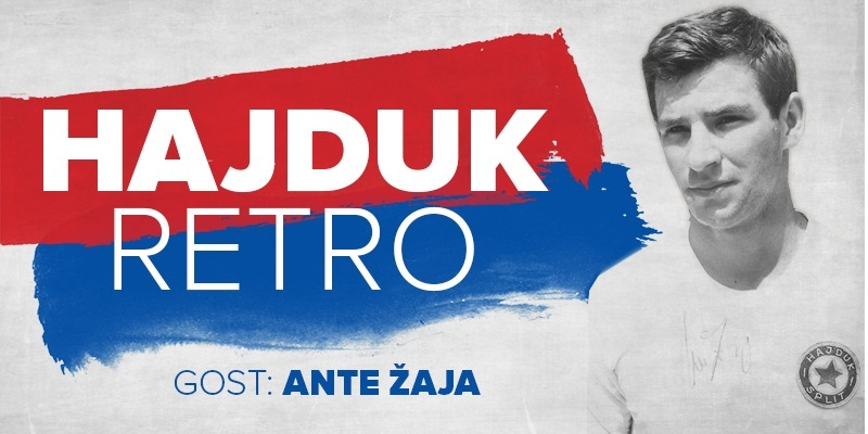 Hajduk Retro: Prvi domaćin bit će Ante Žaja