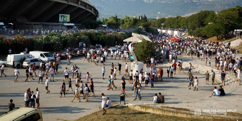 Obavijest svim navijačima koji dolaze na utakmicu Hajduk - Slaven Belupo