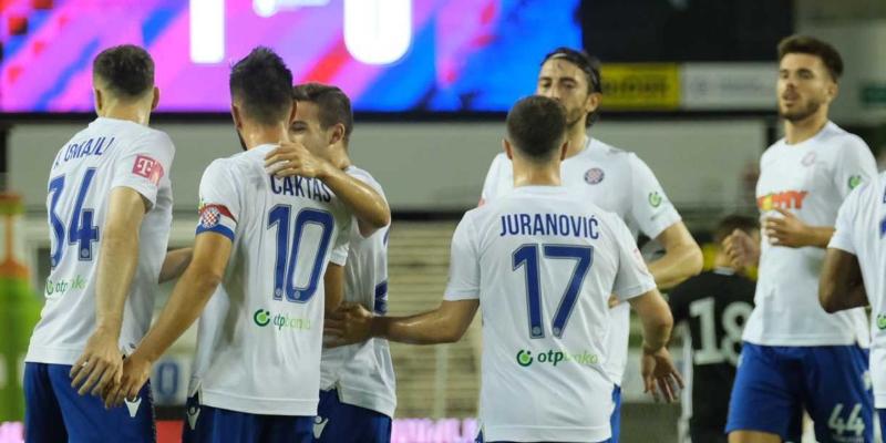 Split: Hajduk - Slaven B. 2-1